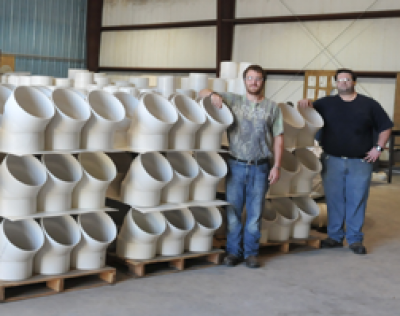 PIP Solvent Weld PVC Pipe Fittings - Soileau Industries